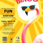 Bingo gay-cations for a cause