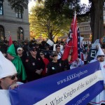 A North Carolina KKK group joined the neo-Nazi rally.