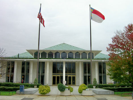 North Carolina Legislative Building. Photo Credit: Dave Crosby, via Flickr. Licensed CC.