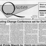 From the archives: Creating Change in 1993