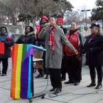 Local gay rights vigils mark landmark marriage cases