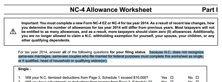 new n.c. tax forms contain reminder of anti-gay amendment – qnotes
