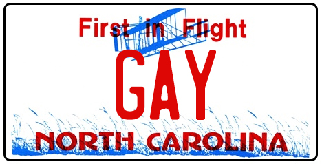ncgaylicenseplate-gay