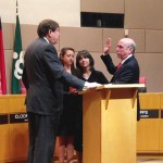 Clodfelter sworn in as mayor, stresses stability and diversity