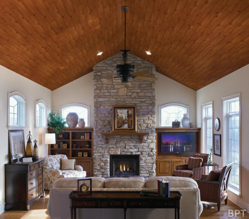 Wood textures bring warmth, richness and texture to a room of any style.