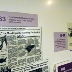 Historical reports and artifacts from Charlotte during the 1980s AIDS Crisis.