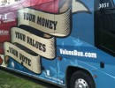 Family Research Council's 'Values Bus,' parked outside First Baptist Church during Council President Tony Perkins' sermon at the church in March 2012.