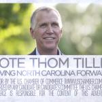 Gay business group 'outraged' over Tillis endorsement