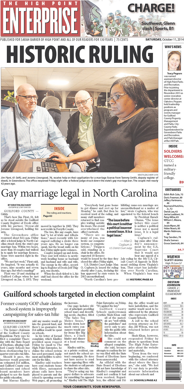 from Armani nc gay newspapers