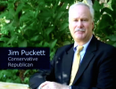 A still from Jim Puckett's 2006 anti-gay ad targeting former County Commission Chair Parks Helms' support for LGBT equality.