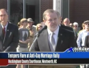 State Senate President Pro Tempore Phil Berger. Video still via Star News.