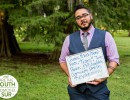 Parker Hurley of the Greensboro, N.C.-based Trans* People of Color Coalition, a #WeAreTheSouth/#SomosElSur coalition partner.