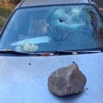 Bar patron suspected in car damage