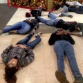 featured image Charlotte activist group stages die-in at SouthPark Mall
