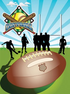 Illustration Credits: Rugby, duchessa, via rgbstock.com Softball, sport-kid.net.