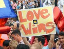 Hundreds celebrated the historic Supreme Court decision on June 26, 2015, outside the court in Washington, D.C. Photo Credit: Ted Eytan, via Flickr. Licensed CC.