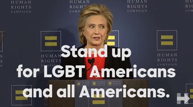 hillary clinton lgbt rights