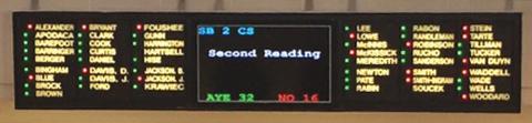 SB 2 becomes law, even over Gov. Pat McCrory's veto.