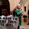 featured image Charlotte black, queer activist confronts Hillary Clinton at fundraiser
