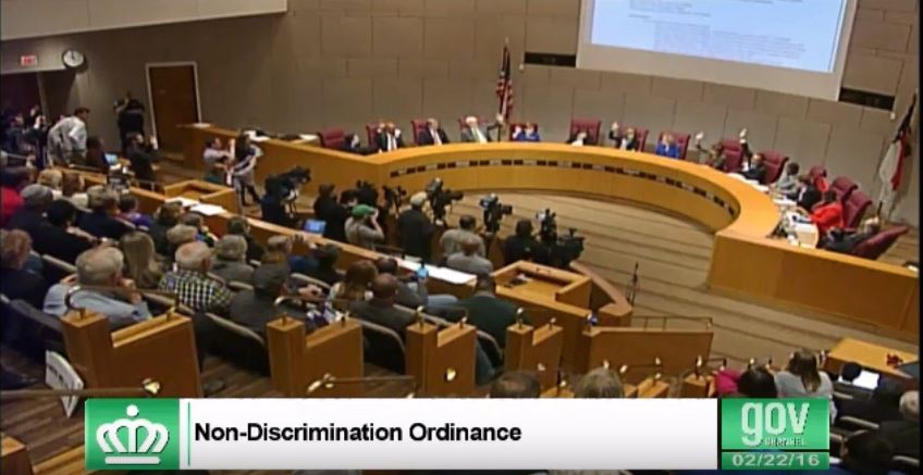 charlotte non-discrimination ordinance