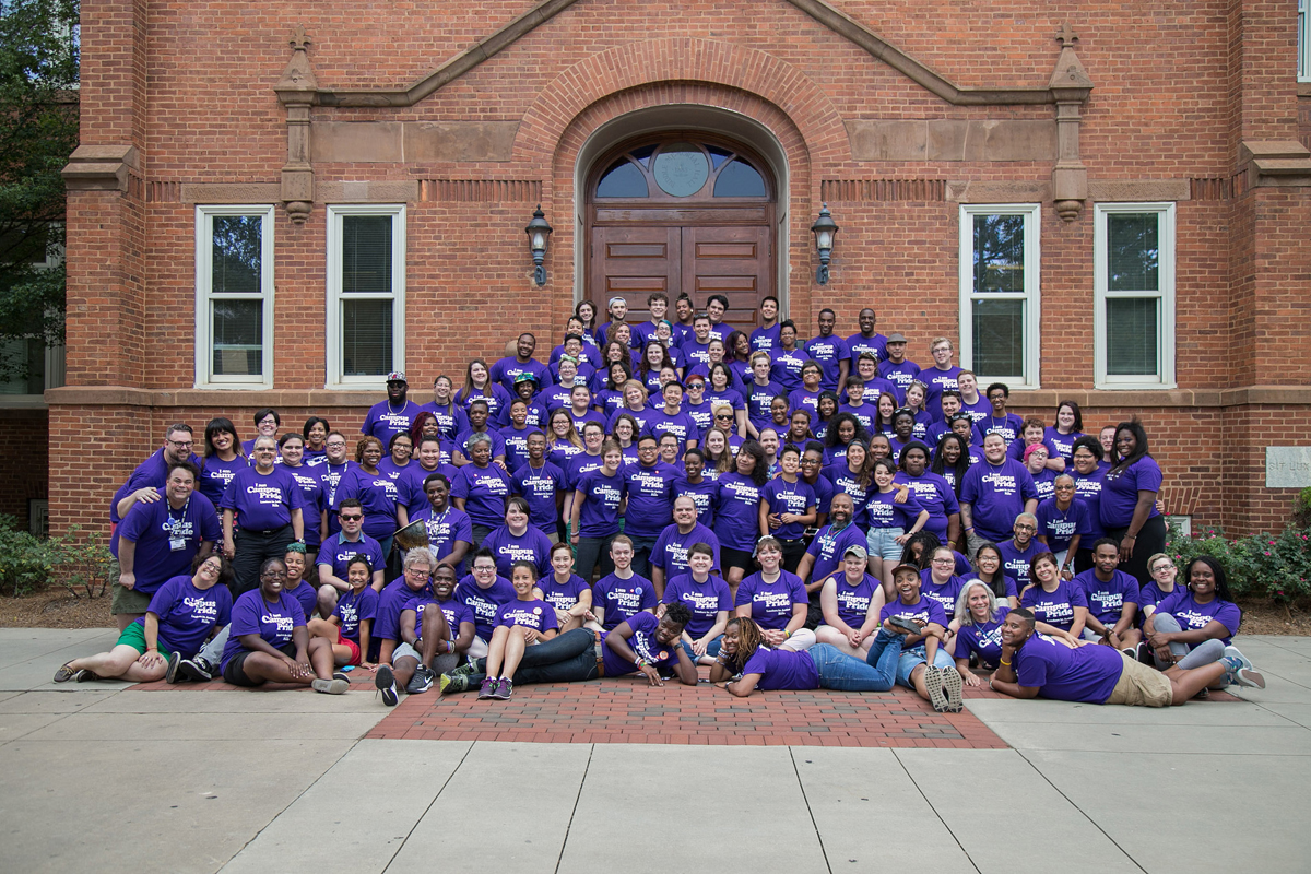 Students and adults alike attend Camp Pride to gain leadership skills, to make connections and to gain confidence.