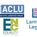 featured image ACLU, Equality NC, Lambda Legal sue over HB2, Gov. McCrory responds