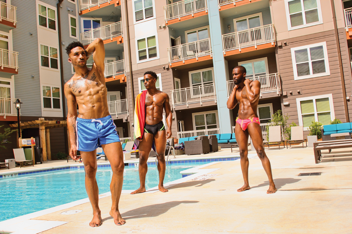 Hot weather hot men hot swimwear qnotes for Pool guy show