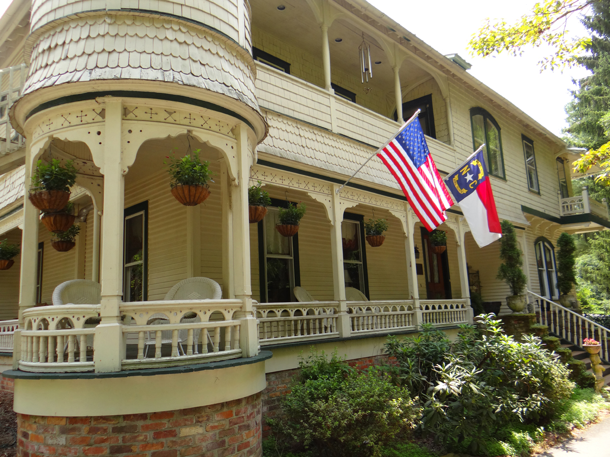 The classic Engadine Bed and Breakfast is steeped with southern history and hospitality. Photo Credit: Engadine Bed and Breakfast