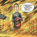 featured image McCrory lets bill moving half million from disaster relief pass without signature, blames NCGA
