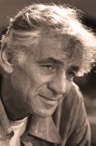 Leonard Bernstein, acclaimed conductor. Photo Credit: Marion Strikosko, U.S. News & World Report, 1971. Public Domain
