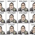 featured image Kevin Siers cartoon on McCrory's concession and obsession
