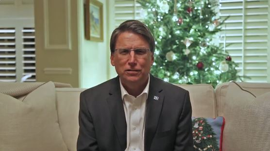 McCrory concedes