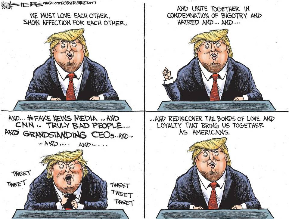 Kevin Siers Trump Charlottesville