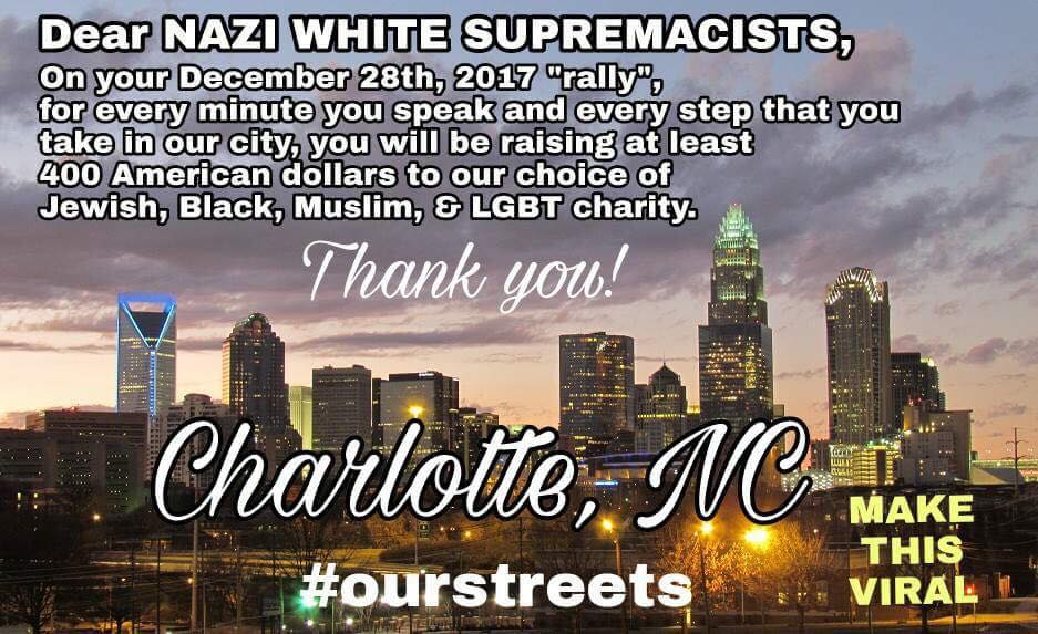 nazi white supremacists charlotte