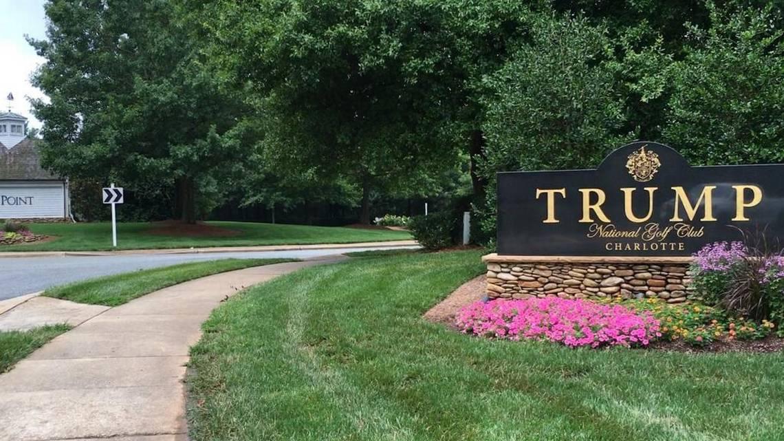 trump golf club