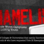 Campus Scene: 'Shame' List, Grant Deadline