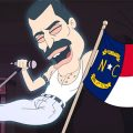 featured image The ghost of Freddie Mercury slams North Carolina in Netflix's 'Big Mouth'