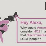 LGBT rights advocates urge Amazon not to place headquarters in Raleigh