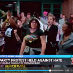 Dance protest raises trans awareness